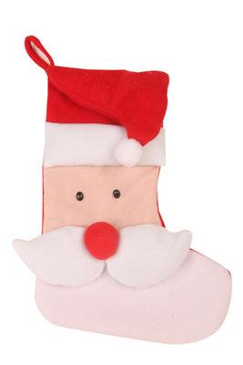 Set de 2 calcetines navideños 53 cm