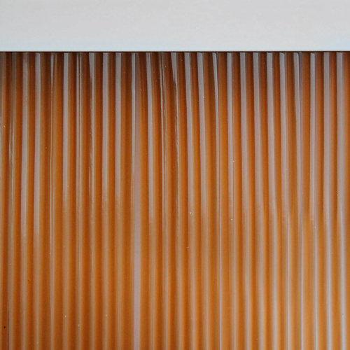 Cortina de puerta marrón de 90 x 210 cm