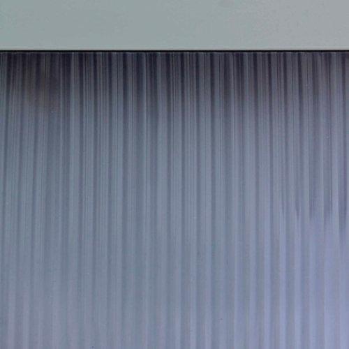 Cortina de puerta transparante de 90 x 210 cm