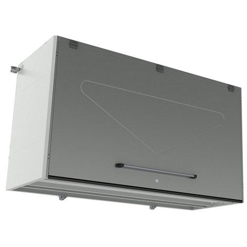 Armario en kit pl130001 de 202x113x80 cm para uso interior