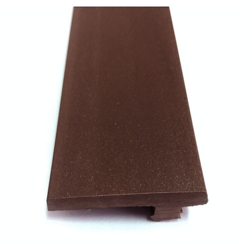 Remate lateral composite chocolate 230x14x4,6 cm