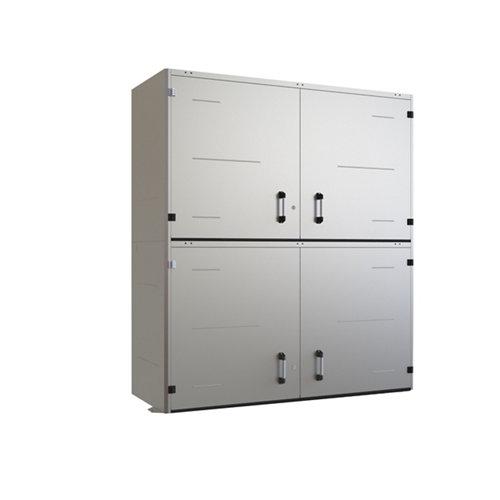 Armario en kit pl150001 de 200x227.8x80 cm para uso interior