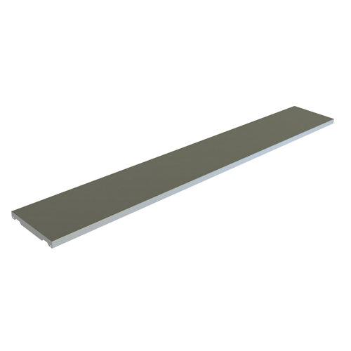 balda para estantería metálica de acero de 3x200x20 cm