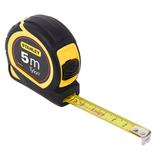 Flexómetro enrollable stanley de 19mm 5 m