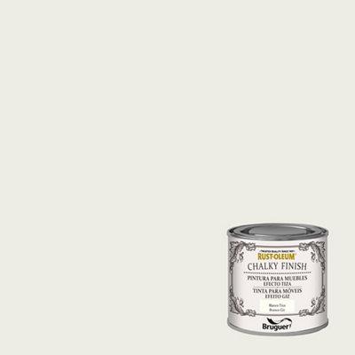 Pintura a la tiza CHALKY FINISH RUST-OLEUM 125 ml blanco