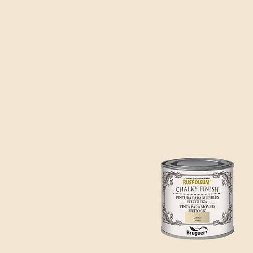 Pintura a la tiza chalky finish rust-oleum 125 ml crema