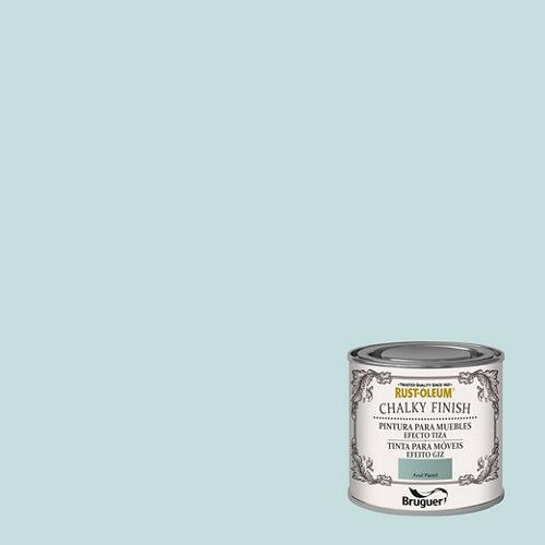 Pintura a la tiza chalky finish rust-oleum 125 ml azul pastel