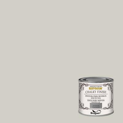Pintura a la tiza CHALKY FINISH RUST-OLEUM 125 ml gris invernal