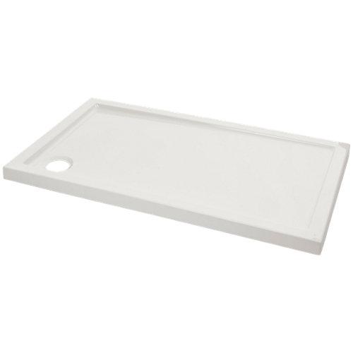 Plato ducha rectangular evolution 120x70 cm blanco