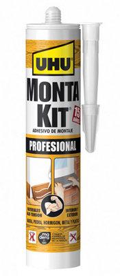 Adhesivo de montaje UHU Montakit Profesional 350 gr