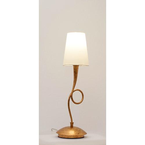 Lámpara de mesa mantra gris