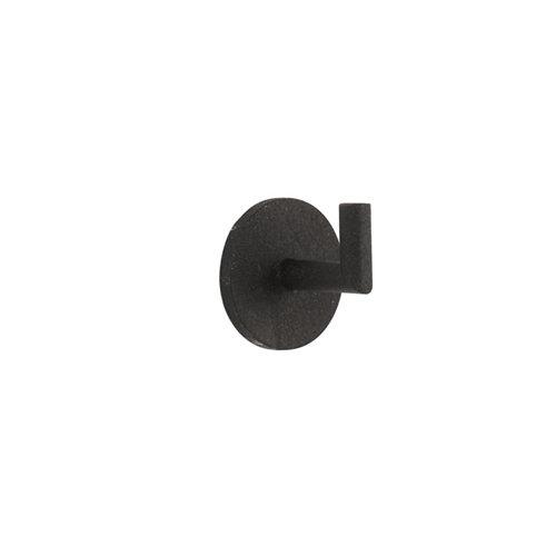 2 alzapaños forja negros de 30 mm