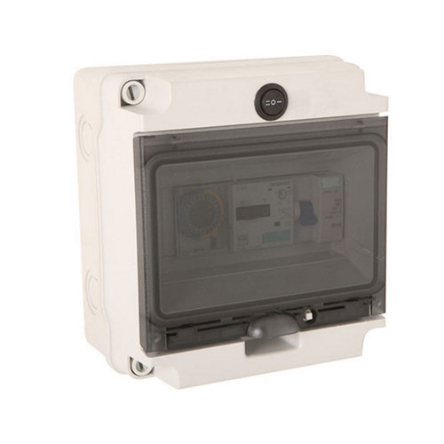 Cuadro eléctrico para depuradora 2 cv 19x17cm