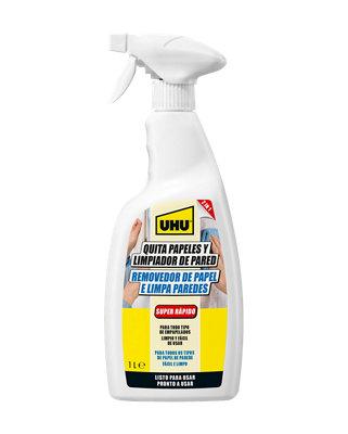 Spray quitapapeles y limpiador UHU bote 1 Litro