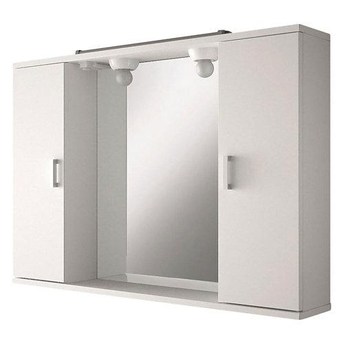 Armario baño volga blanco 80x63x18.5 cm