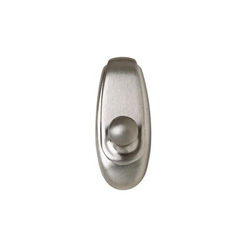 1 colgador adhesivo de metal de 25x55 mm