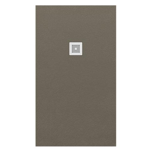 Plato ducha colors 70x80 cm marrón