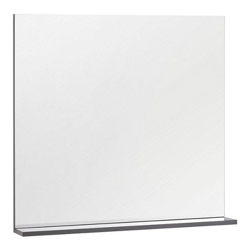 Espejo de baño opale gris / plata 80 x 76 cm