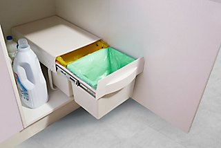 Cubo Para Interior Extraíble 2x15 Litros Leroy Merlin
