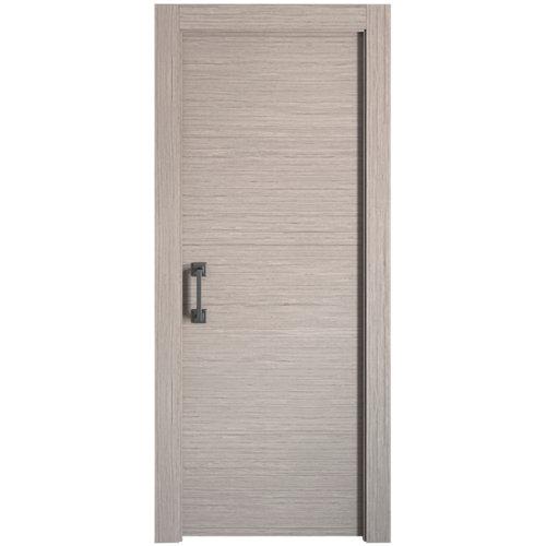 Puerta de interior corredera viena gris de 72.5 cm