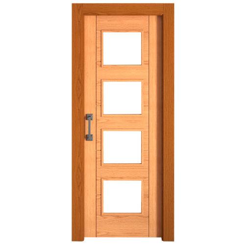 Puerta de interior corredera noruega roble de 72.5 cm