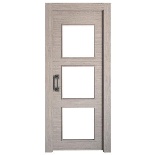 Puerta de interior corredera viena roble de 72.5 cm