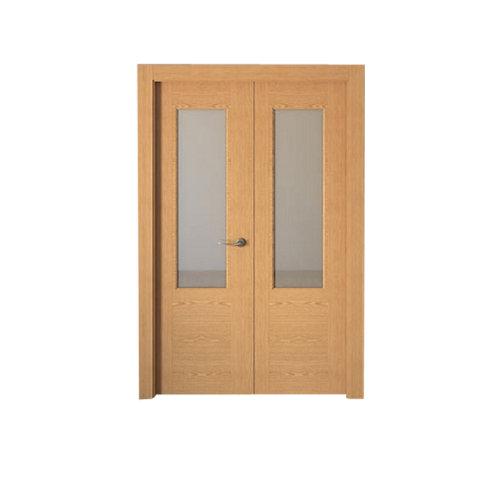 puerta canarias roble de apertura izquierda de 145 cm