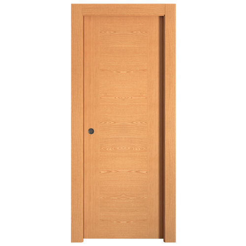 Puerta de interior corredera canarias roble de 62.5 cm