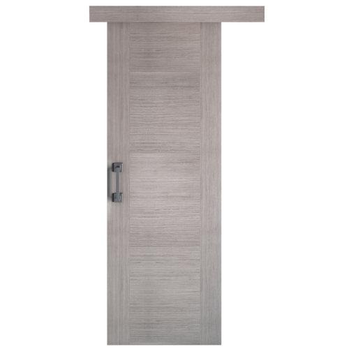 Puerta de interior corredera niza gris de 82.5 cm