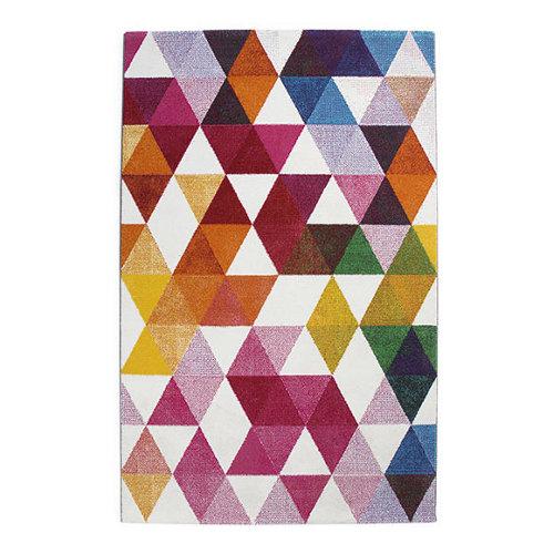 Alfombra multicolor polipropileno tikey 21037 60 x 120cm