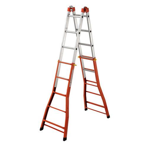 Escalera sencilla dexter 5 peldaños 5.7 m altura máxima