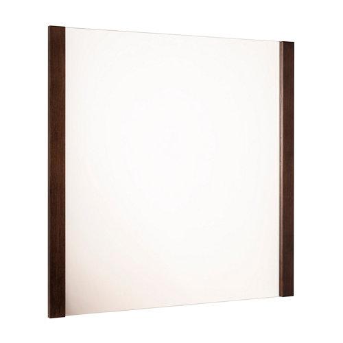 Espejo de baño amazonia marrón 80 x 80 cm
