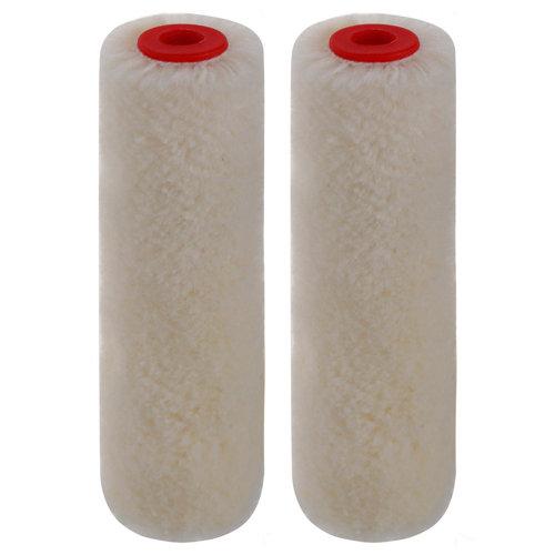 2 recambios rodillo para multisuperficies velour dexter 11 cm