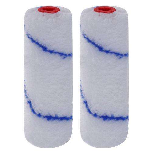 Lote 2 recambios para rodillos para paredes lisas de 11 cm dexter