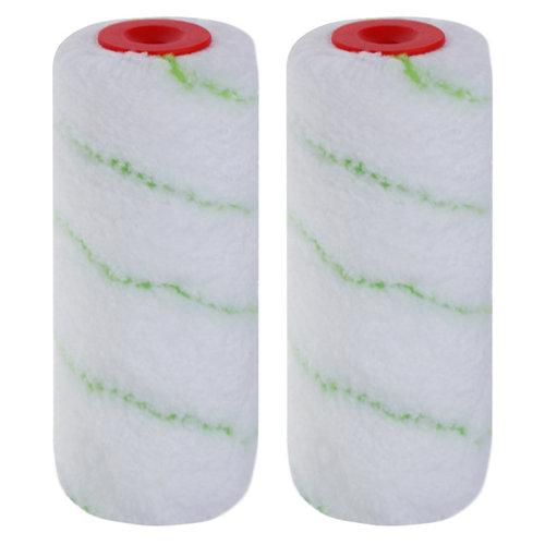Lote 2 recambios de rodillo para gotelé de 12 cm dexter