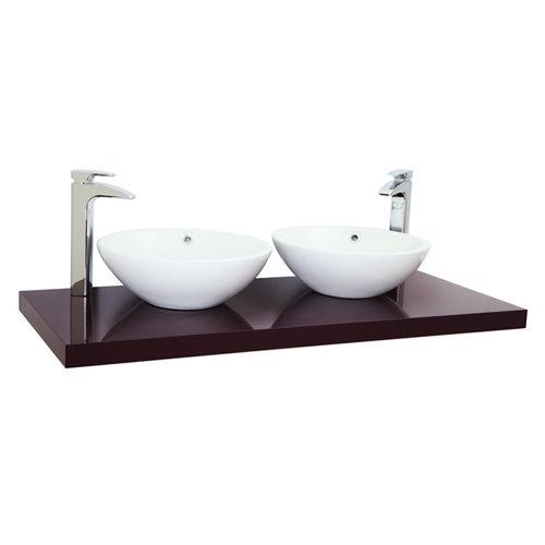 Encimera lavabo onix violeta de 120x5x51 cm