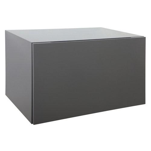 Mueble bajo onix gris oscuro 60x39x43.5cm
