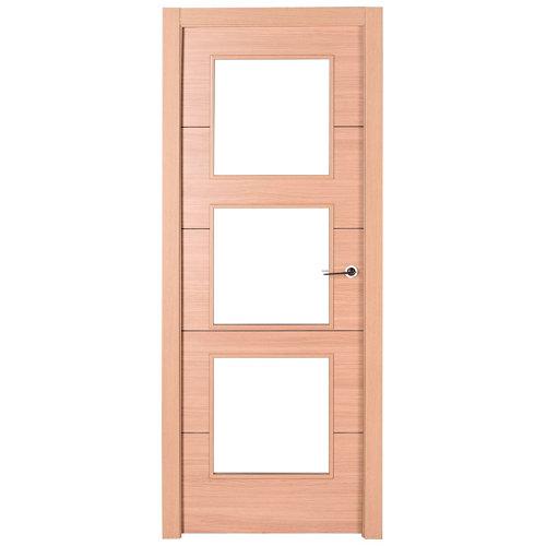 puerta berna roble de apertura izquierda de 125 cm