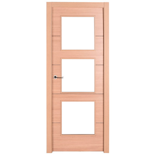 Puerta berna roble de apertura derecha de 82.5 cm