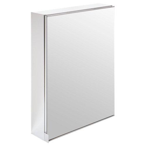 Armario de baño con espejo remix blanco 60x77x14 cm