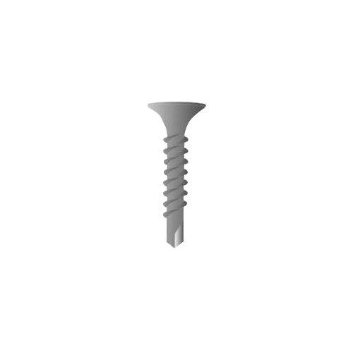 500 tornillos para placas de yeso de acero de 8x38 mm