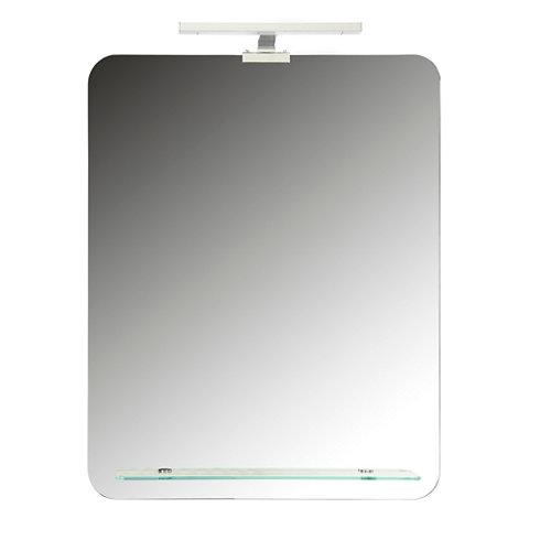 Espejo de baño con luz led touch 80 x 80 cm