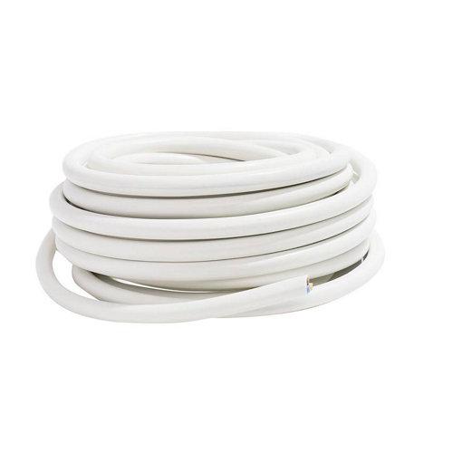 Manguera lexman h05vv-f blanco 3x2,5 mm² 5 m