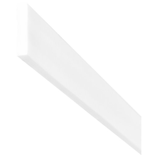 Moldura de poliestireno 10x50 mm de 2 m de largo