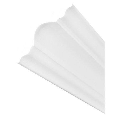 Moldura de poliestireno 95x95 mm de 2 m de largo