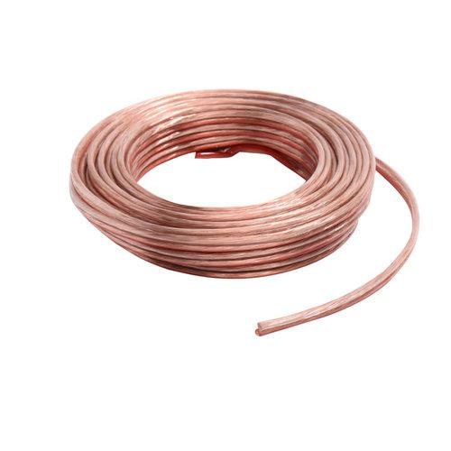 Cable de altavoces lexman transparente 2x1,5 mm² 20 m