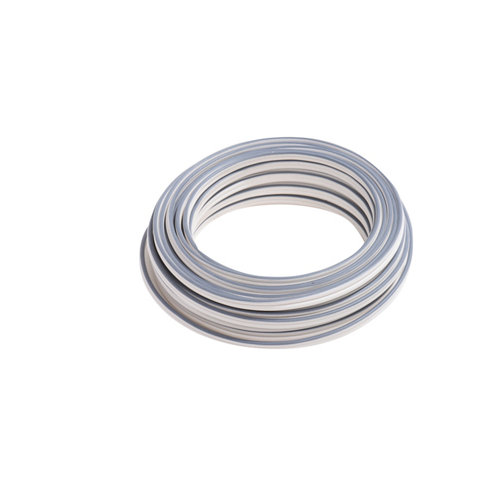 Cable de altavoces lexman blanco/gris 2x1,5 mm² 20 m