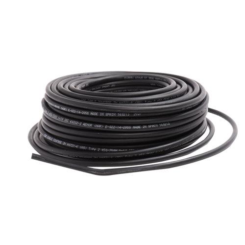 Cable lexman h07v-k negro 1,5 mm² 20 m