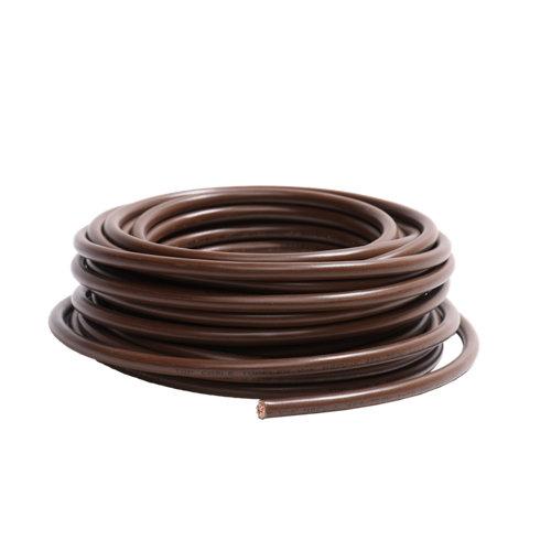 Cable lexman h07v-k marrón 10 mm² 10 m