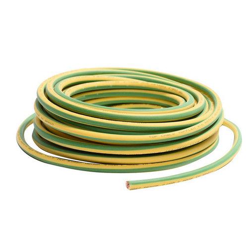 Cable lexman h07v-k vd/amarillo 10 mm² 25 m